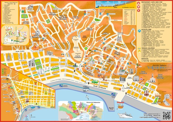 Map of Valparaiso
