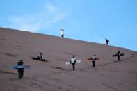 Sandboarding in San Pedro